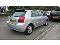 Toyota Corolla 1.4 lady owner