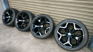 """BMW X5,X6 GENUINE 20"""" WHEELS AND TYRES Condell Park Bankstown Area Preview"""
