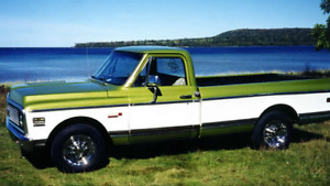 Wanted 1967. To 1972 Chevy truck
