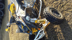 Can Am race Quad in new condition.