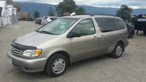 Toyota Sienna camper conversion &/or family car