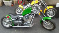 2 MINI CHOPPERS FOR 1 PRICE......BOTH ARE RUNNING&DRIVABLE