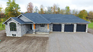 Brand New 1755 Sq. Ft 3 Bedroom Bungalow!