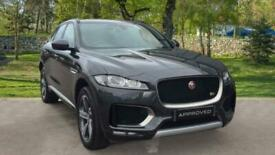 image for Jaguar F-Pace 3.0d V6 S 5dr AWD- Sliding Panoramic Roof Auto Estate Diesel Autom