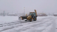 Snow plowing in Glace Bay and surroundings