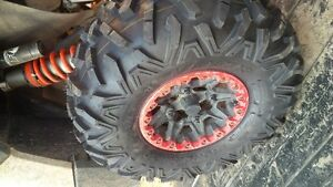 For Sale: Maxxis Bighorn 2.0's on Can Am wheels