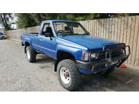 1988 E Toyota HI LUX 4X4 2.4 DIESEL MK2 PICK UP