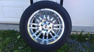5 roues 20 pouces chromées pour Sierra ou Silverado