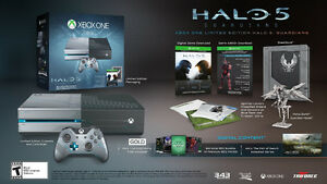 Brand New Xbox One Gear of the War Bundle / Tomb Raider / Halo 5
