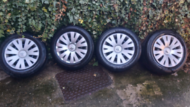 Wheels and tyres and trims