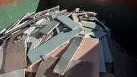 Collecte / Ramassage débris-déchets de construction514-262-7275