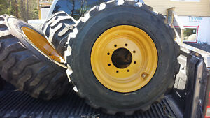 skid steer skidsteer rims tires