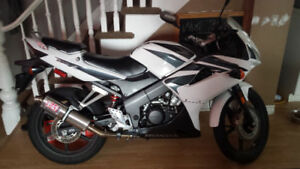 Black/White Honda CBR for Sale