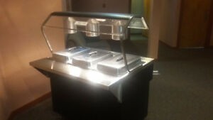 Excellent condition restaurant steam table for sale