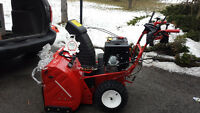 snow blower troy built 357cc engine 33 inches 2 stage blower