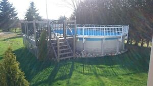 Above ground pool 30X15 for sale