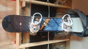 Forum Snowboard,case,bindings