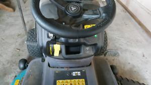 Riding craftsman mower
