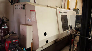 Mitsubishi M-TC15B Box ways CNC lathe Japan made