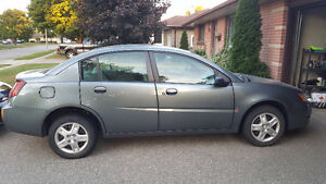 2007 Saturn ION Grey Sedan