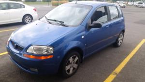 Pontiac Wave 2007 manuelle à vendre