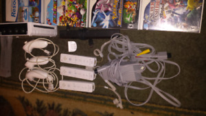 Nintendo Wii with 11 Games