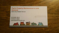 Junk Removal / Landscaping
