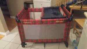 Graco pack n play with change table