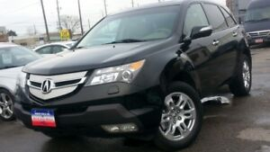 2009 Acura MDX 7 PASSENGER / LEATHER / S-ROOF / AWD