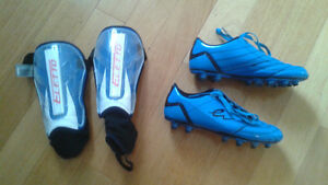 Chaussure Soccer Eletto et proteges-TIbia