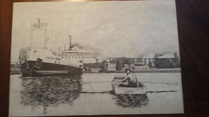Original Artwork - A.G. Chelsom Drawings With Certificate