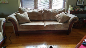 sofa et causeuse....couch and loveseat