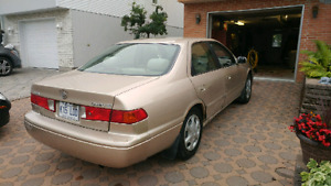 Toyota Camry 2.2 L. Rides like a jem. A1 motor. Air conditioning