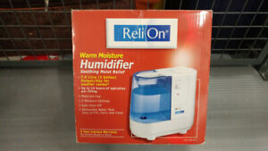 Mint Condition Warm Moisture Humidifier For Sale