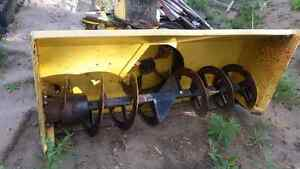 Skid steer Erskine snowblower Prince George British Columbia image 4