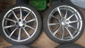 "19"" Braelin Mags with Tires"