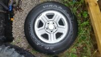 "16"" Jeep wrangler Rims with TPS 5x5"" bolt pattern Elliot Lake"