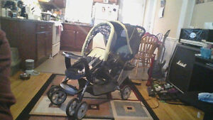 gracco double stroller