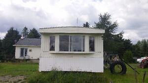 Pour vente rapide: maison mobile a déménager