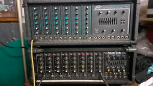 PA amplifiers both in good working order