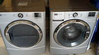 Maytag Washer and Dryer - Stainless