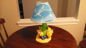 Disney/Pixar Finding Nemo lamp with nightlight - NEW in box.