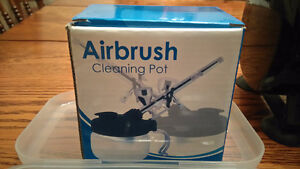 NEW Complete airbrush set for sale, paint & cleaning kit Kingston Kingston Area image 6