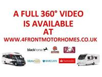 2017 ELDDIS ENCORE 254 MOTORHOME 4 BERTH 4 TRAVELLING SEATS 2.2 DIESEL 6 SPEED M