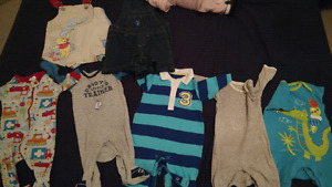 0-3 and 3-6 months baby boy clothes