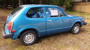 1979 Honda Civic Hatchback CVCC 1500