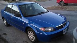 2003 Mazda Protege se Sedan