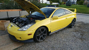 2001 Toyota Celica GT Coupe BODY KIT/EXHAUST/INTAKE