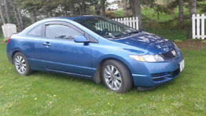 2009 Honda Civic Civic EX-L Coupe (2 door)