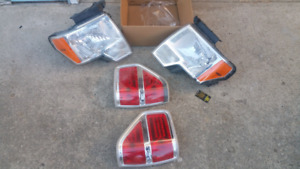 2009 - 2014 Ford F150 headlights and tail lights